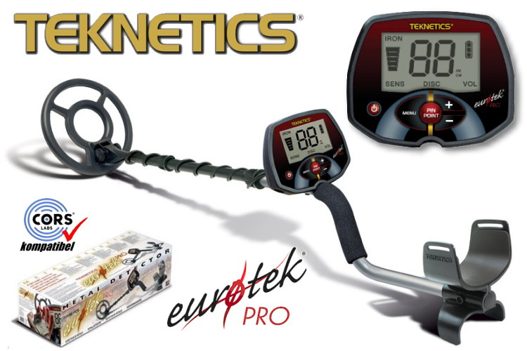 Teknetics Eurotek PRO (LTE) Metalldetektor