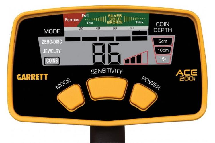 Garrett ACE 200i+ Metalldetektor mit Gratiszugabe Kopfhörer