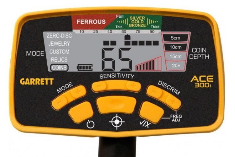 Garrett ACE 300i+ Metalldetektor ProfiSet