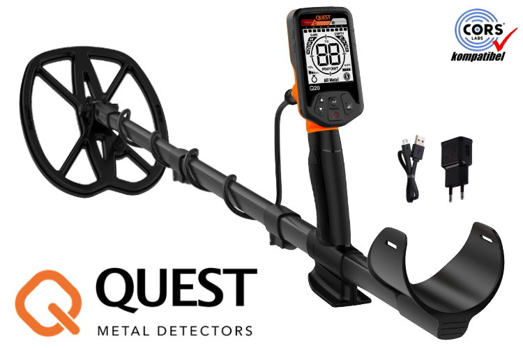 QUEST Q20 Metalldetektor