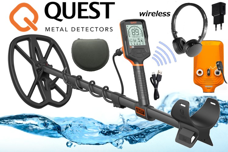 QUEST Q30+ Metalldetektor