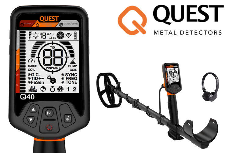 Quest Q40 Metalldetektor