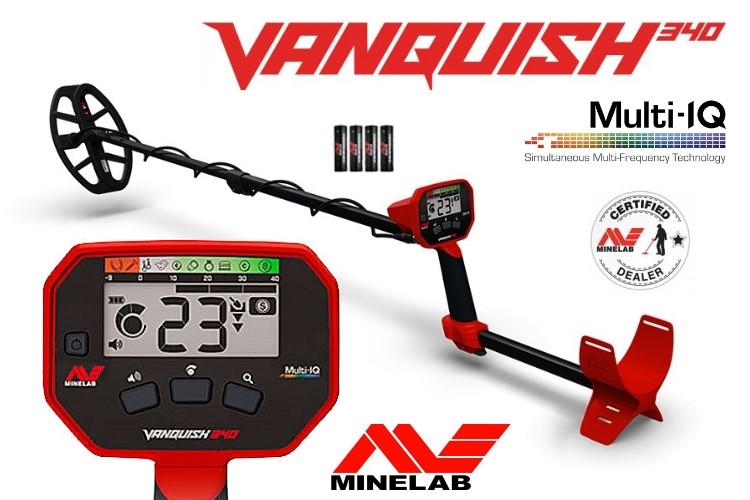 Minelab Vanquish 340 Metalldetektor