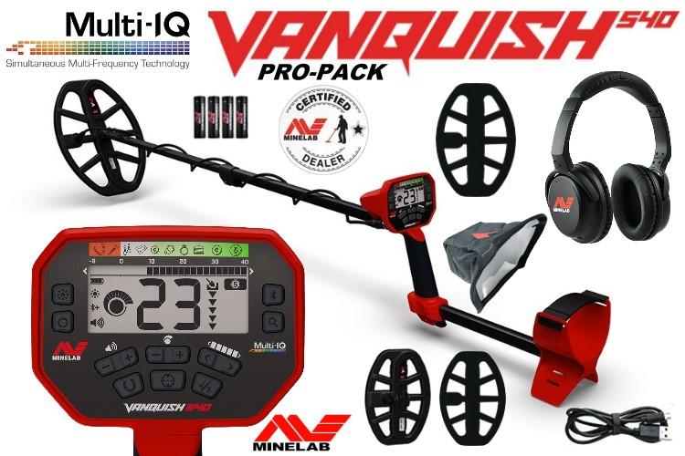 Minelab Vanquish 540 PRO-PACK Metalldetektor