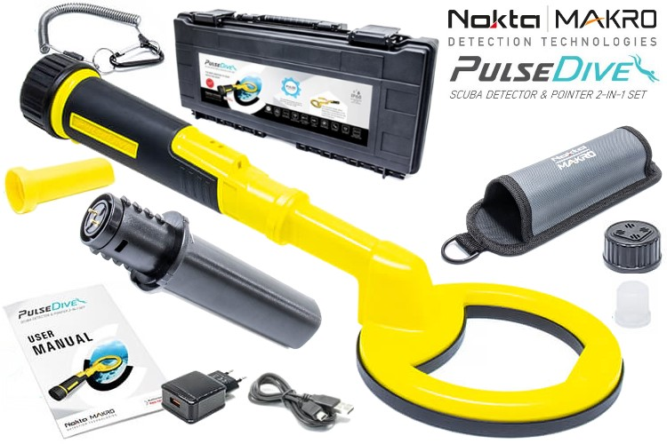 Nokta/Makro PulseDive Metalldetektor